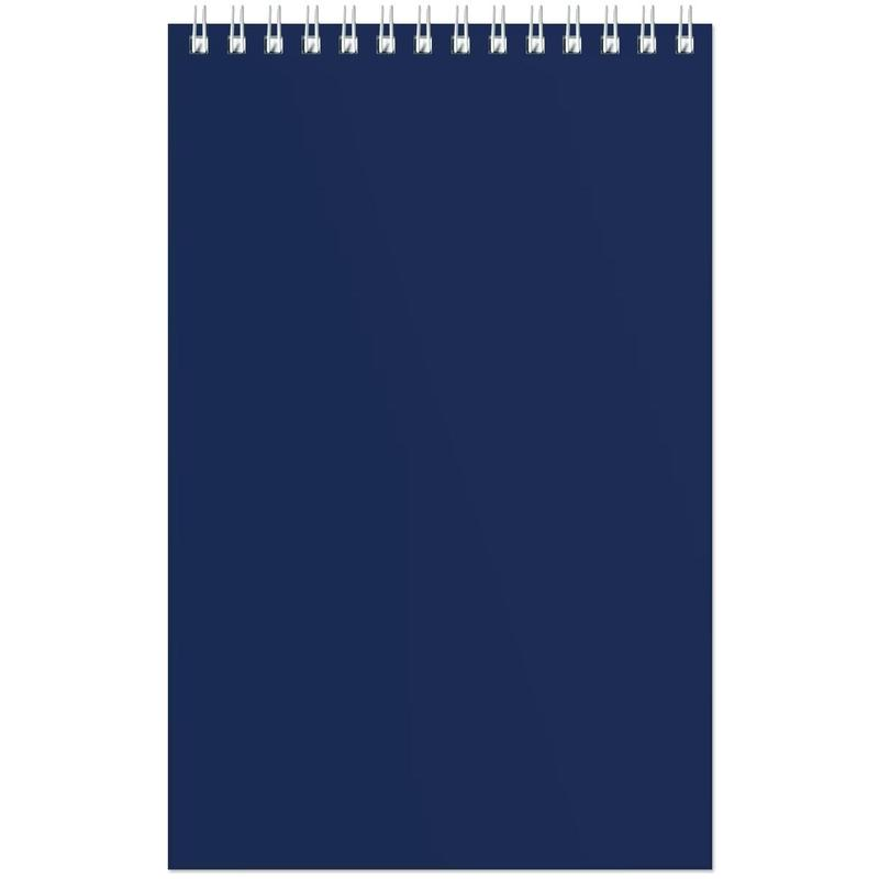 Блокнот Attache A5 60 листов синий в клетку на спирали, 61355K