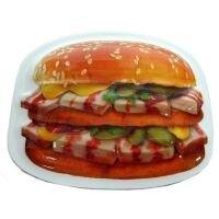 Магнит Гамбургер с салом