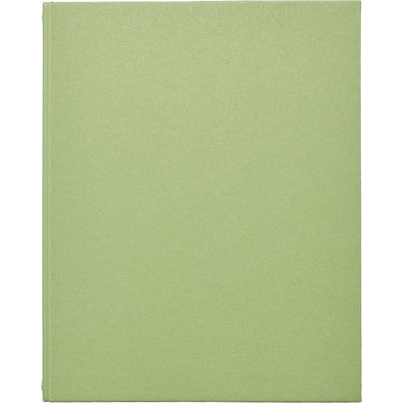 Тетрадь со сменным блоком 120 листов Балакрон зеленая