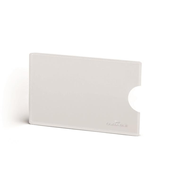 Чехол для кредитных карт с Rfid защитой Durable 54x87 мм 3 шт, 897768K