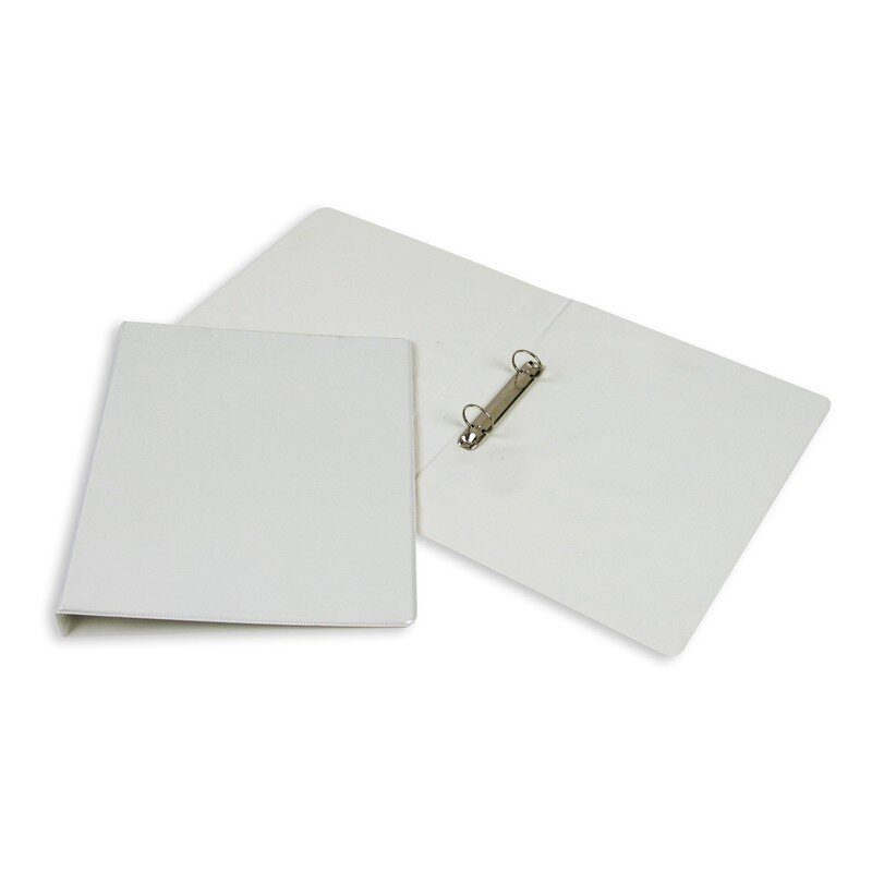 Папка на 2-х кольцах Bantex 25 мм белая до 175 листов