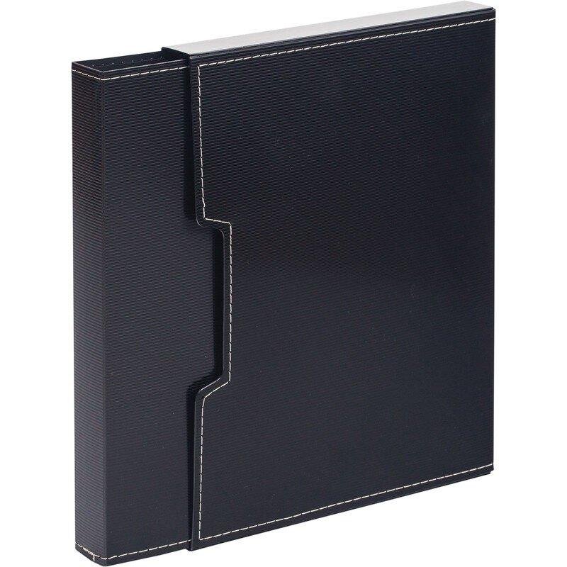 Папка файловая на 100 файлов черная