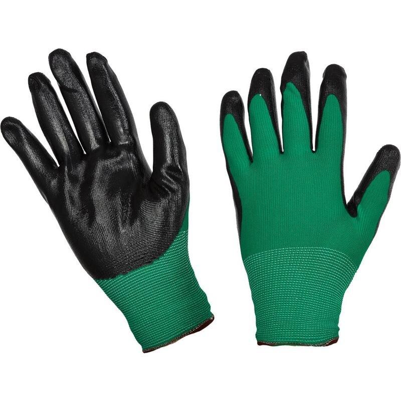 Перчатки рабочие с нитриловым покрытием размер 8, 966120K