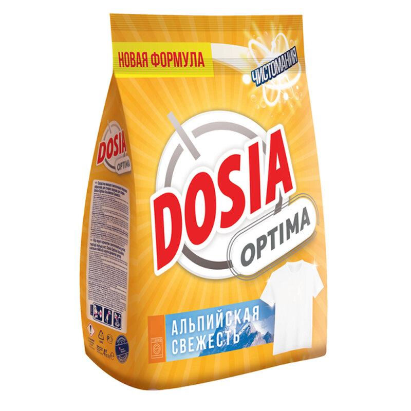 Порошок для машинной стирки Dosia Optima Альпийская Свежесть, 1,2 кг, 294562rf