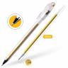 Ручка гелевая золото металлик CROWN 0.7 мм