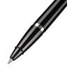 Ручка шариковая на липучке в держателе с цепочкой синяя 0.5 мм