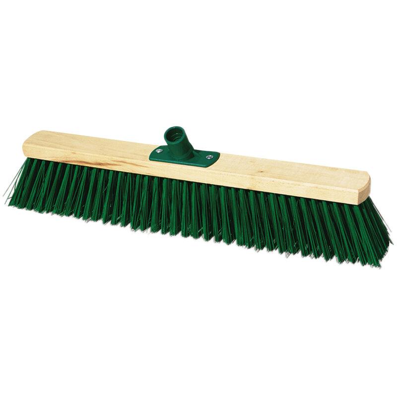 Щетка для уборки OfficeClean Professional, техническая, 40 см, жёсткая щетина 5,5 см, дерево, еврорезьба